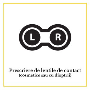 Prescrierea de lentile de contact